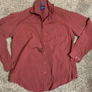 FACONNABLE 100% shirt burgundy
